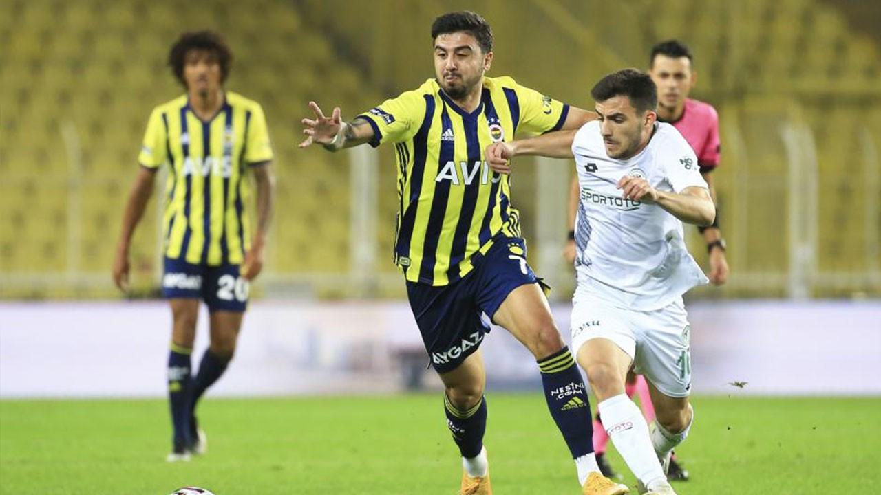 Konyaspor Fenerbahçe maçı ne zaman, saat kaçta, hangi kanalda canlı yayınlanacak?