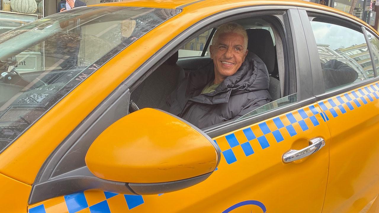 Ünlü 'taksici' İstanbul'da taksi bulamadı